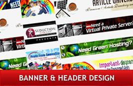 Banner & Header Design